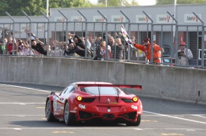 Scuderia Vittoria showed the 458 was quick with a win in Race Two © Jakob Ebrey