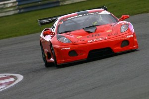 Scott's older MTECH Racing Ferrari 430 performed well at Snetterton but more work is needed