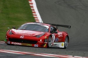 Michael Lyons suffered a string of misfortunes at Spa in his Ferrari 458 © Jakob Ebrey